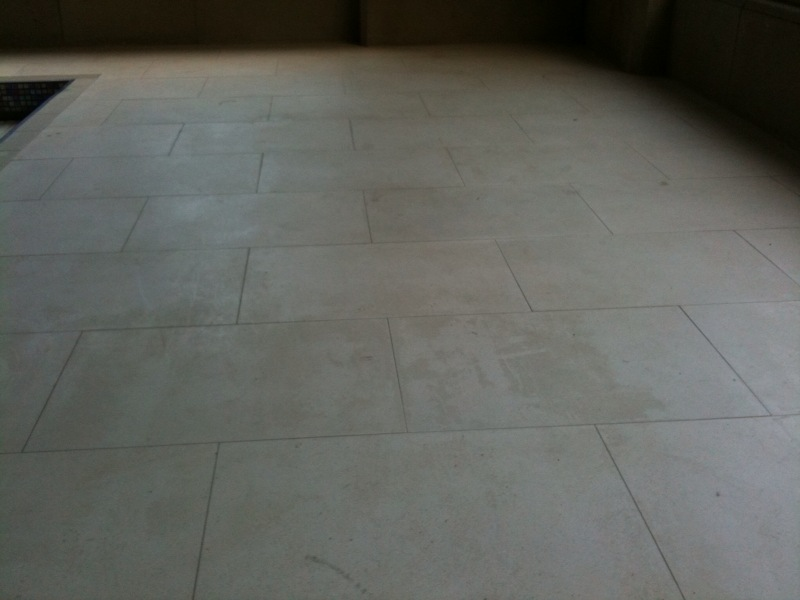 Porcelain Floor Photo Before