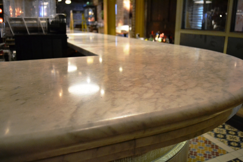 Revolucion De Cuba Bar Top After Polishing Manchester