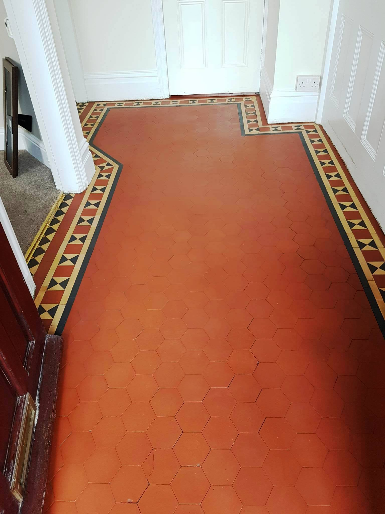 Victorian floor after renovation in Littleover