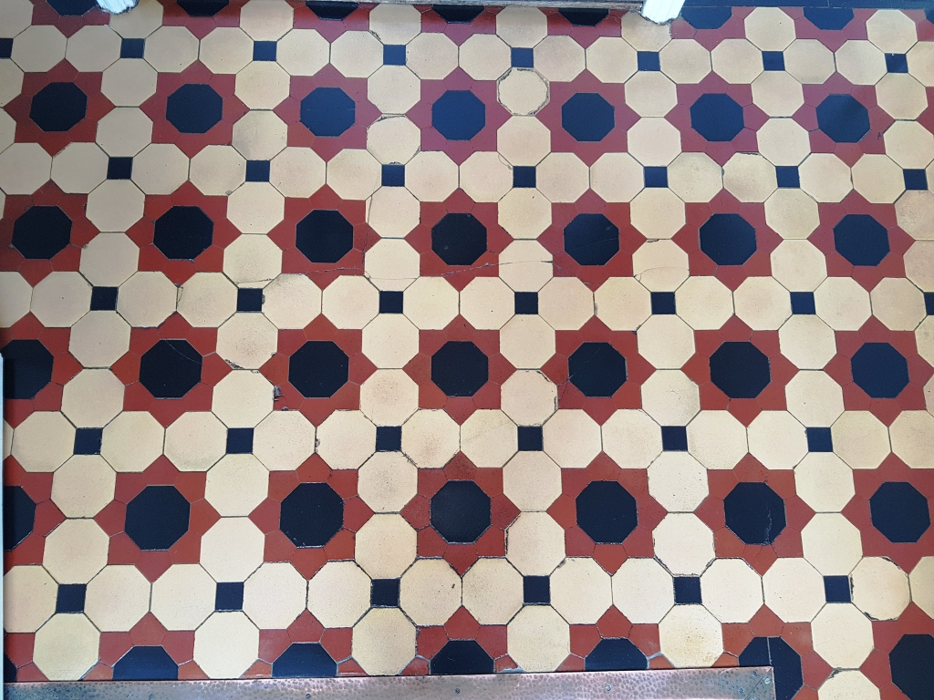 Victorian Tiles After Cleaning Buxton
