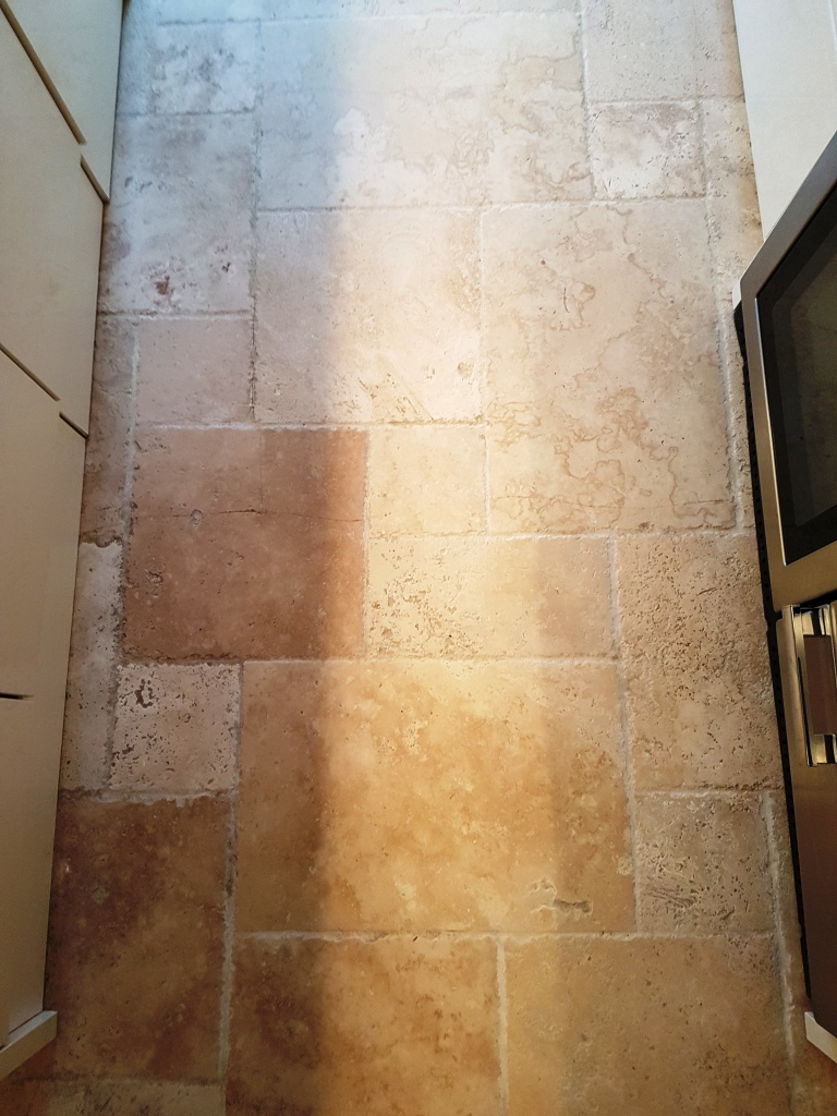 Limestone Kitchen Floor After Cleaning Chesterfield