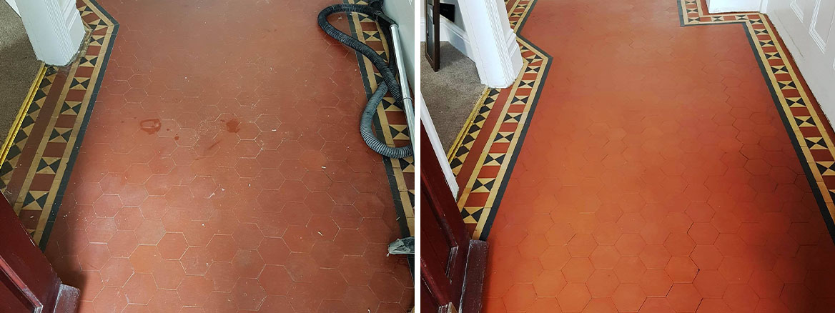 Victorian Floor Before and After Renovation in Littleover
